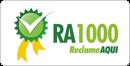 Selo RA1000 do Reclame Aqui
